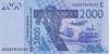 2000 Франков выпуска 1999 года, Нигерия (Западно-Африканские Штаты). Подробнее...
