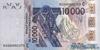 10000 Франков выпуска 1999 года, Нигерия (Западно-Африканские Штаты). Подробнее...