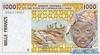 1000 Франков выпуска 1999 года, Нигерия (Западно-Африканские Штаты). Подробнее...
