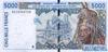 5000 Франков выпуска 1999 года, Нигерия (Западно-Африканские Штаты). Подробнее...