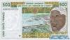 500 Франков выпуска 2002 года, Нигерия (Западно-Африканские Штаты). Подробнее...