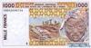1000 Франков выпуска 1998 года, Нигерия (Западно-Африканские Штаты). Подробнее...