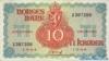 10 Крон выпуска 1944 года, Норвегия. Подробнее...