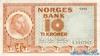 10 Крон выпуска 1956 года, Норвегия. Подробнее...