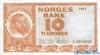 10 Крон выпуска 1967 года, Норвегия. Подробнее...