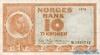 10 Крон выпуска 1970 года, Норвегия. Подробнее...