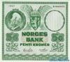 50 Крон выпуска 1953 года, Норвегия. Подробнее...