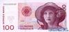 100 Крон выпуска 1995 года, Норвегия. Подробнее...