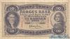 10 Крон выпуска 1940 года, Норвегия. Подробнее...
