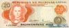 20 Писо выпуска 1970 года, Филиппины. Подробнее...