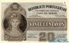 20 Сентаво выпуска 1925 года, Португалия. Подробнее...
