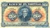 2.50 Эскудо выпуска 1922 года, Португалия. Подробнее...