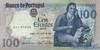 100 Эскудо выпуска 1985 года, Португалия. Подробнее...