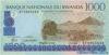 1.000 Франков выпуска 1998 года, Руанда. Подробнее...