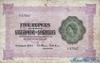 5 Рупий выпуска 1954 года, Сейшелы. Подробнее...