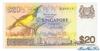 20 Долларов выпуска 1979 года, Сингапур. Подробнее...