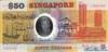 50 Долларов выпуска 1990 года, Сингапур. Подробнее...