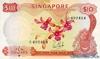 10 Долларов выпуска 1967 года, Сингапур. Подробнее...