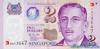 2 Доллара выпуска 2000 года, Сингапур. Подробнее...