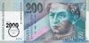 200 Крон выпуска 1995 года, Словакия. Подробнее...