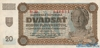 20 Крон выпуска 1942 года, Словакия. Подробнее...
