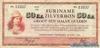 50 Центов выпуска 1942 года, Суринам. Подробнее...