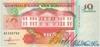 10 Гульденов выпуска 1991 года, Суринам. Подробнее...