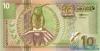 10 Гульденов выпуска 2000 года, Суринам. Подробнее...