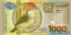 1.000 Гульденов выпуска 2000 года, Суринам. Подробнее...