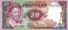 20 Эмалангени выпуска 1985 года, Свазиленд. Подробнее...
