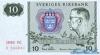 10 Крон выпуска 1980 года, Швеция. Подробнее...