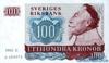 100 Крон выпуска 1982 года, Швеция. Подробнее...