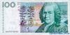 100 Крон выпуска 1996 года, Швеция. Подробнее...