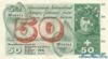 50 Франков выпуска 1958 года, Швейцария. Подробнее...
