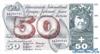 50 Франков выпуска 1961 года, Швейцария. Подробнее...