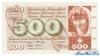 500 Франков выпуска 1974 года, Швейцария. Подробнее...