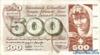 500 Франков выпуска 1971 года, Швейцария. Подробнее...
