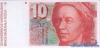 10 Франков выпуска 1992 года, Швейцария. Подробнее...