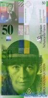 50 Франков выпуска 1994 года, Швейцария. Подробнее...