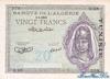 20 Франков выпуска 1943 года, Тунис. Подробнее...