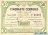 50 Сантимов выпуска 1920 года, Тунис. Подробнее...