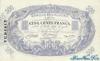 500 Франков выпуска 1924 года, Тунис. Подробнее...