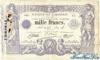 1000 Франков выпуска 1924 года, Тунис. Подробнее...