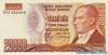 20.000 Лир выпуска 1988 года, Турция. Подробнее...