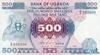 500 Шиллингов выпуска 1986 года, Уганда. Подробнее...