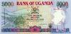 5000 Шиллингов выпуска 1996 года, Уганда. Подробнее...