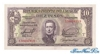 10 Песо выпуска 1939 года, Уругвай. Подробнее...