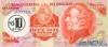 10 Новых Песо - 10000 Песо выпуска 1975 года, Уругвай. Подробнее...