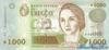 1000 Песо выпуска 2000 года, Уругвай. Подробнее...