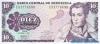 10 Боливаров выпуска 1981 года, Венесуэла. Подробнее...